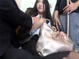 Busty Japanese Teen Went Trough Hell On Her Way To School