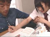 Private Class Turns Into Horror When Kinky Tutor Grabbed Her Boobs Uncensored  Aoi Shirasaki