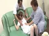 Ultra Hot Japanese Nurse Pussy Creampied By Two Patients Uncensored