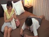 Beautiful Japanese Young Wife First Time Cheating On Her Hubby In A Hotel Room