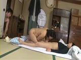 Stepmom Kaoru Ayatsuki Gets Fucked and Creampied By Both Of Her Teenage Stepsons