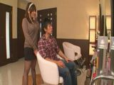 Busty Hairdresser Gets Fucked At Her Saloon