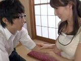 Nerd Boy Open His Soul To Milf Stepmommy And Begs Her To Help Him Not To Be Virgin Anymore