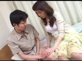 Japanese Mom Catch Her Stepson Watching Porn Magazine And Suck Him After That