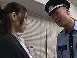 Pervert Security Guard Blackmail Business Milf Lady To Fuck