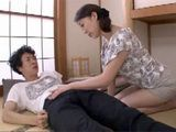 Horrified Stepmother Quickly Clutch Erected Cock Of Her Sleepy Son