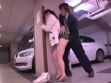 Japanese Girl Groped and Molested in the Underground Garage