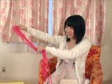 While Teen Japanese Was Showing Her Friend What She Bought In A Sexy Shop He Gets Very Horny