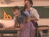 Schoolgirl Beni Itoh Blackmailed And Force Fucked In Classroom By Insane Classmate