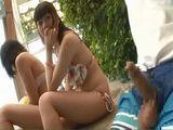 Immodest Pool Boy
