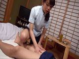 Japanese Masseuse Noticed A Boner In Her Clients Pants