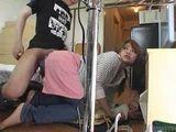 Immodest Japanese Boy Violates His Teen Maid