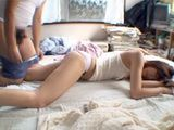 Exhausted Of Hard Studying Sleeping Girl Gets Assaulted By Horny Roommate