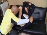 Japanese Girl Mihono Sakaguchi Gets Caught Stealing And  Punished By Security Guard