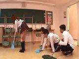 Japanese Schoolgirl Sakurai Ayumi Gets Gangbanged In A Classroom By Classmates