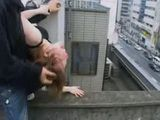 Teen Gangfuck On The Building Roof By Her  Classmates