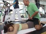 Japanese Girl Will Discover That Her Fitness Trainer is a Maniac