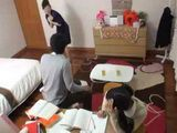 Japanese Schoolgirl Couldnt wait For Her Mom To Get Out Of Her Room To Start Hitting On Her Tutor