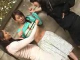 Japanese Sluts Having Fun With Innocent Girl
