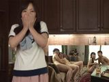 Shocked Wife Could Not Belive That Her Husband And His Friend Bring Hookers At Her House  Hitomi Enjo Azusa Mayumi