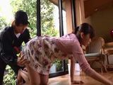Delivery Guy Couldnt Resist Not To Grab Hot Milf Housewife Ass  Yui Hatano