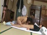Stepmom Kaoru Ayatsuki Gets Fucked and Creampied By Both Of Her Teenage Stepsons