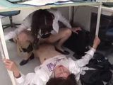 Horny Japanese Secretary Fucking Her Colleague During Working Hours