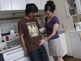 Japanese Housewife Having Affair With Husbands Young Cousin