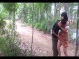 Chinese Village Girl Fucked On Bike In Forest For A Ride Home