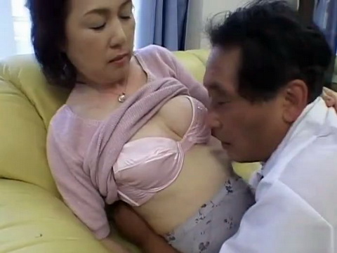 Japanese Wife Sucked Fingered and Fucked in Home