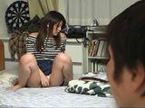 Boy Caught His Busty Classmate Masturbating in His Bedroom