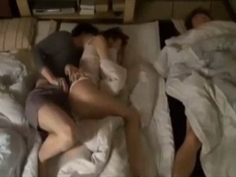Stepson Fuck New Stepmom While Dad Is Sleeping In Same Room
