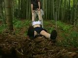 Chloroformed Schoolgirl Gets  Fucked Deep In The Woods By Old Rapist