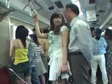 Japanese Teen Abused In Bus By Old Pervert
