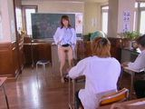 Milf Teacher Provoke Student To Fuck Her Infront Of Everybody In the Classroom